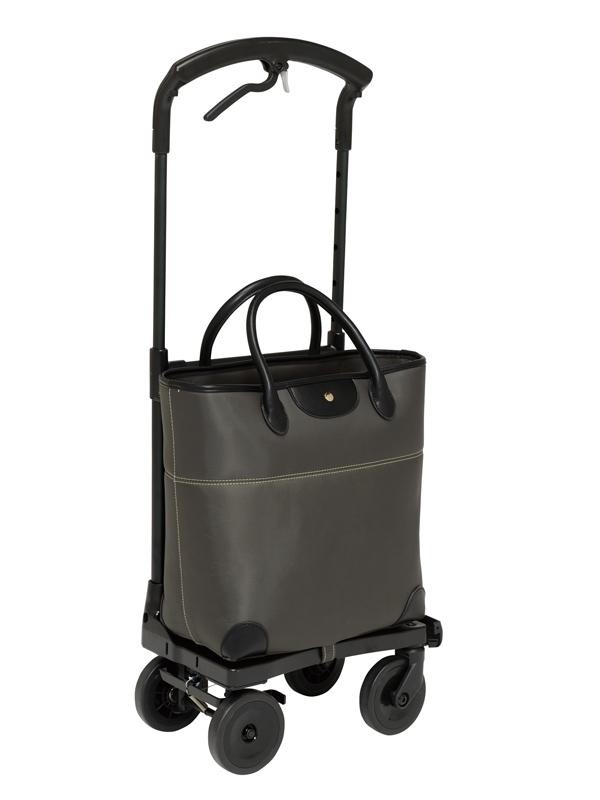 送料無料 幸和製作所 ショッピングカート 右用 おとなりカート ブレーキ付 トートタイプ ブラック WCC04-BK-R