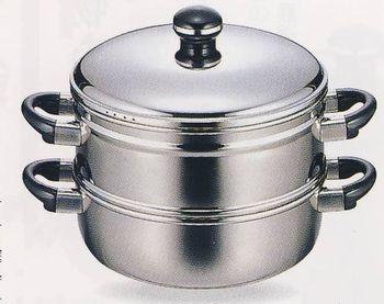 送料無料 オブジェ 蒸し器28cm OJ-19-1S 【バーゲン市場】 【smtb-k】【ky】