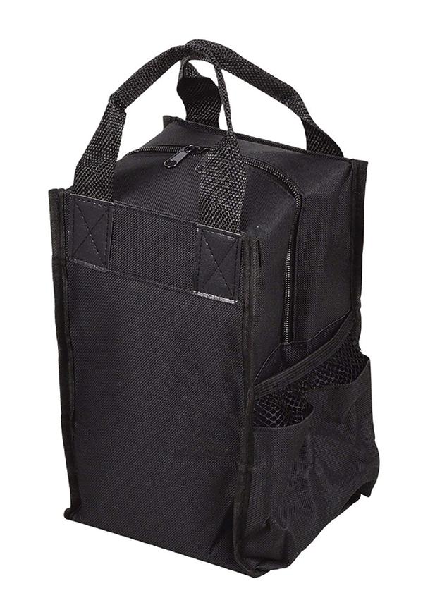 ボックス型のランチジャー 格安SALEスタート ボトル用バック パール金属 オクタス ストアー HB-3900 ブラック ランチジャー用バッグ