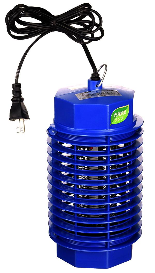 光触媒捕虫ランプ 4W 電撃殺虫器 ムシ殺虫器 4W PC-04