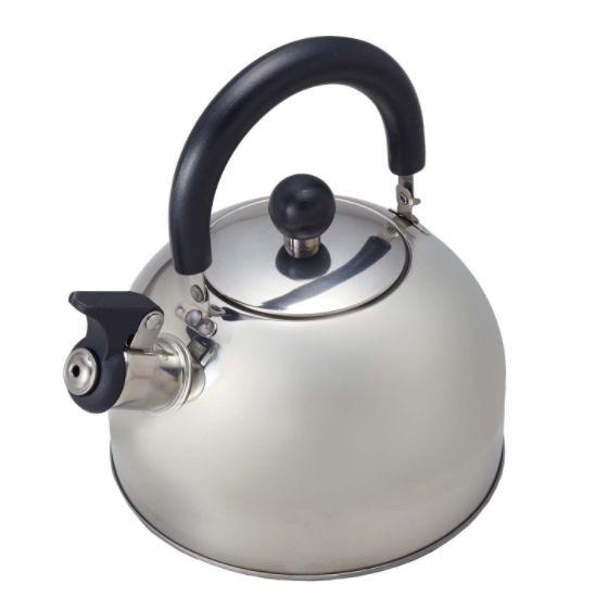 お湯が沸いたら、笛でお知らせ。 【均一セール】 パール金属 ノヴェル ステンレス笛吹きケトル2.3L