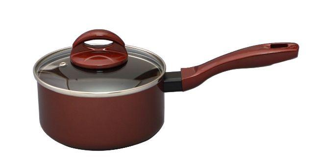高級感の有る内面フッ素加工のお鍋です 海外限定 谷口金属 片手鍋16cm 店舗 ニューブライトEX