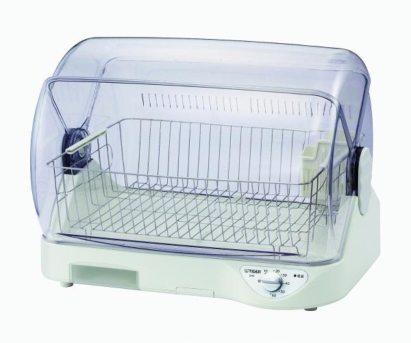 送料無料 タイガー 食器乾燥器 サラピッカ 温風式 DHG-T400W