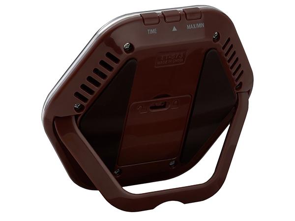 【メール便専用】タニタ TT573BR デジタル温湿度計 ブラウン