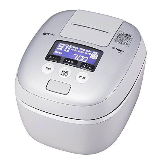 送料無料 タイガー魔法瓶 圧力IH炊飯ジャー 5.5合 JPC-A101WH