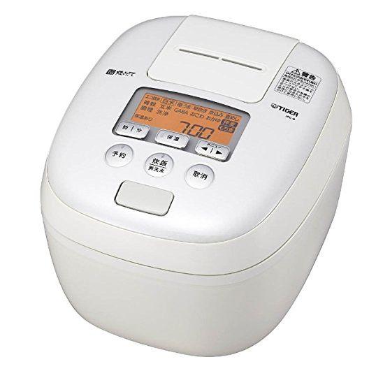 送料無料 タイガー魔法瓶 圧力IH炊飯ジャー 1升 JPC-B181W