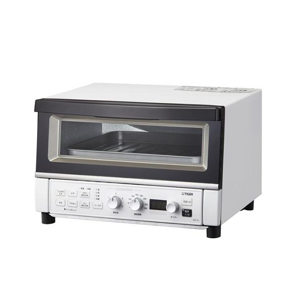 トーストが1度に3枚焼き★トースター 送料無料 タイガー魔法瓶 KAT-A130 WM オーブントースター マットホワイト