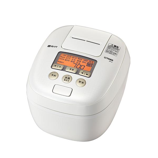 送料無料 タイガー魔法瓶 JPC-H100 WS 圧力IH炊飯ジャー シルキーホワイト