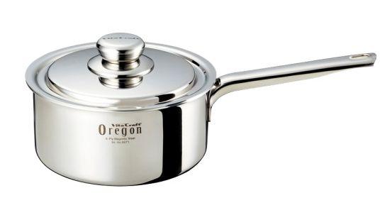 送料無料 ビタクラフト オレゴン 片手鍋18cm 8671