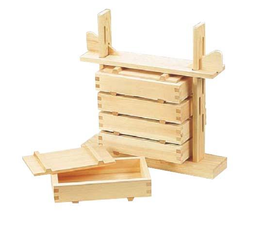 木製 押し寿司5段セット 桧製