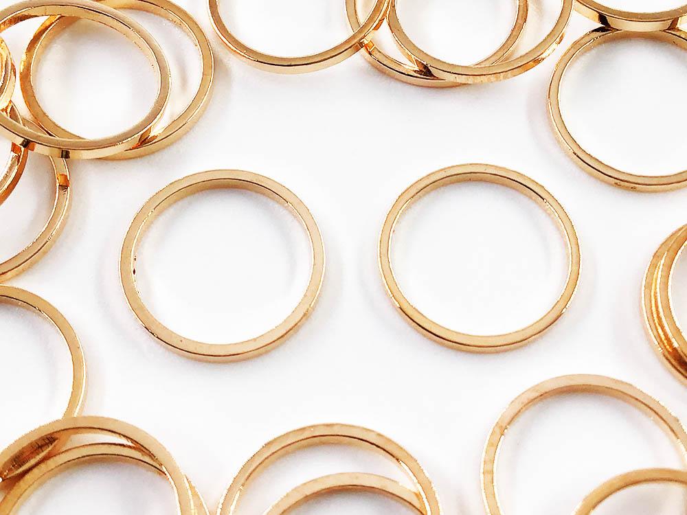 フレームパーツ ゴールド 丸 チャーム 安値 50個 新発売 12mm 枠 金具 パーツ AP1207 ピアス セッティング イヤリング