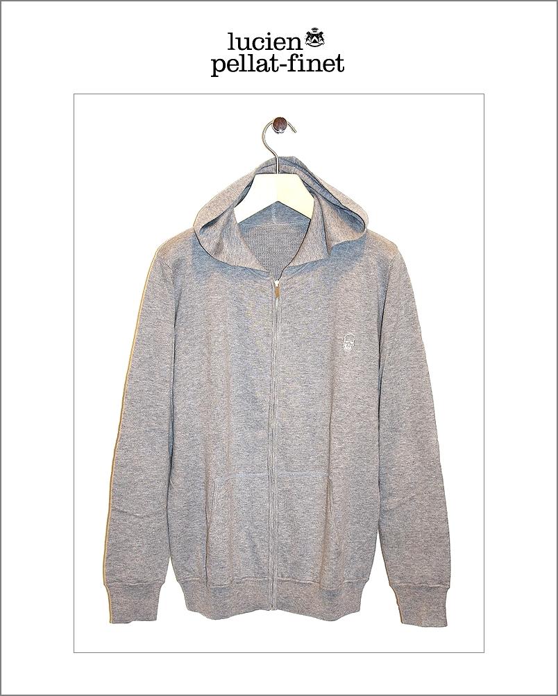 """【lucien pellat-finet""""Skull-Thermal/parka""""gray】"""
