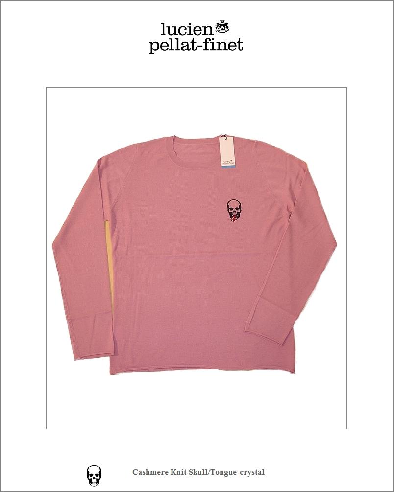 "【lucien pellat-finet""Skull/Cashmere-knit""Rosine】"
