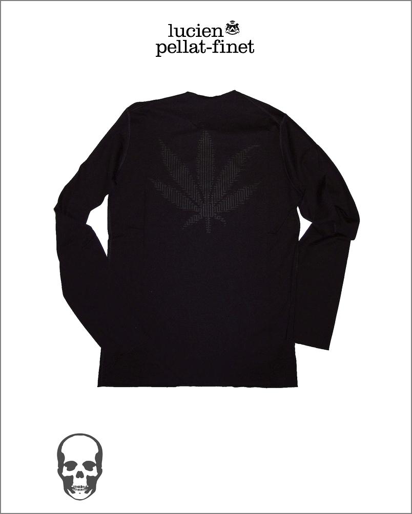 【全品P2倍/最大10,000円OFFクーポン配布中】ルシアンペラフィネ オプティカル リーフ Tシャツlucien pellat-finet Leaf Tshirt