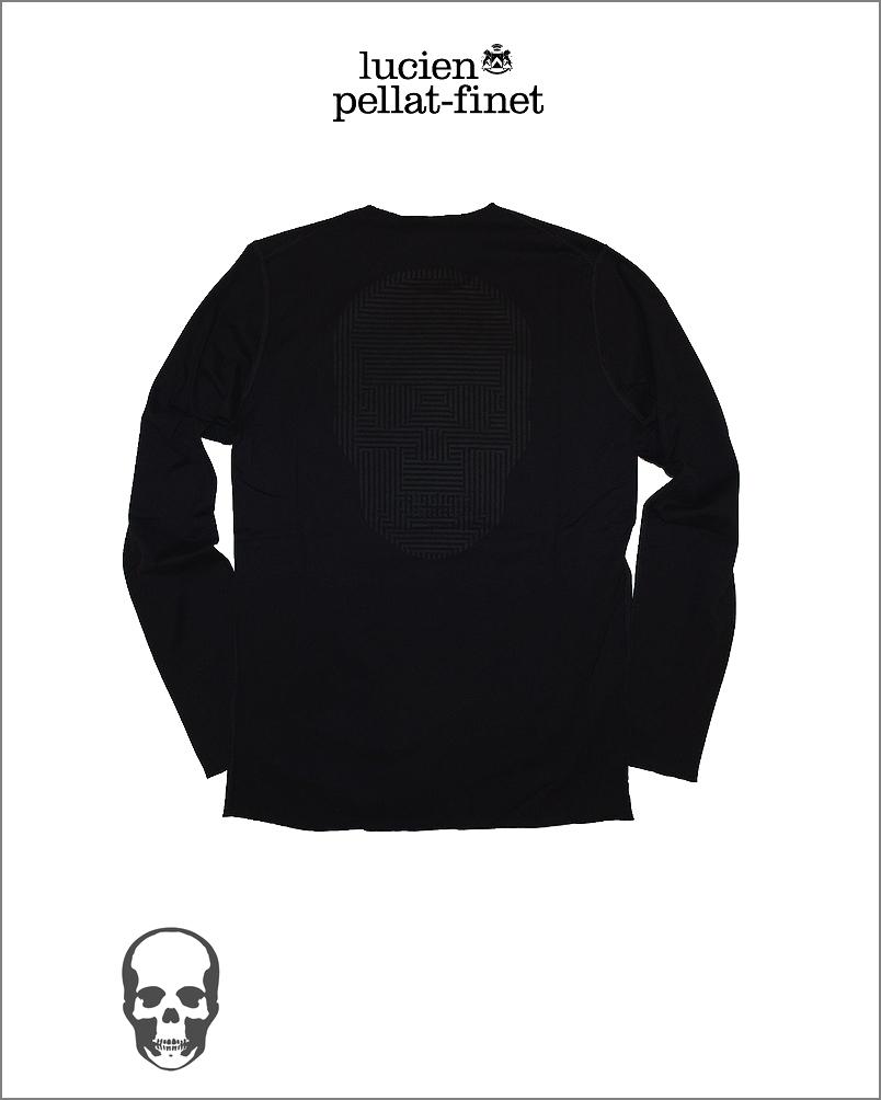 【全品P2倍/最大10,000円OFFクーポン配布中】ルシアンペラフィネ オプティカル スカル Tシャツlucien pellat-finet Skull Tshirt