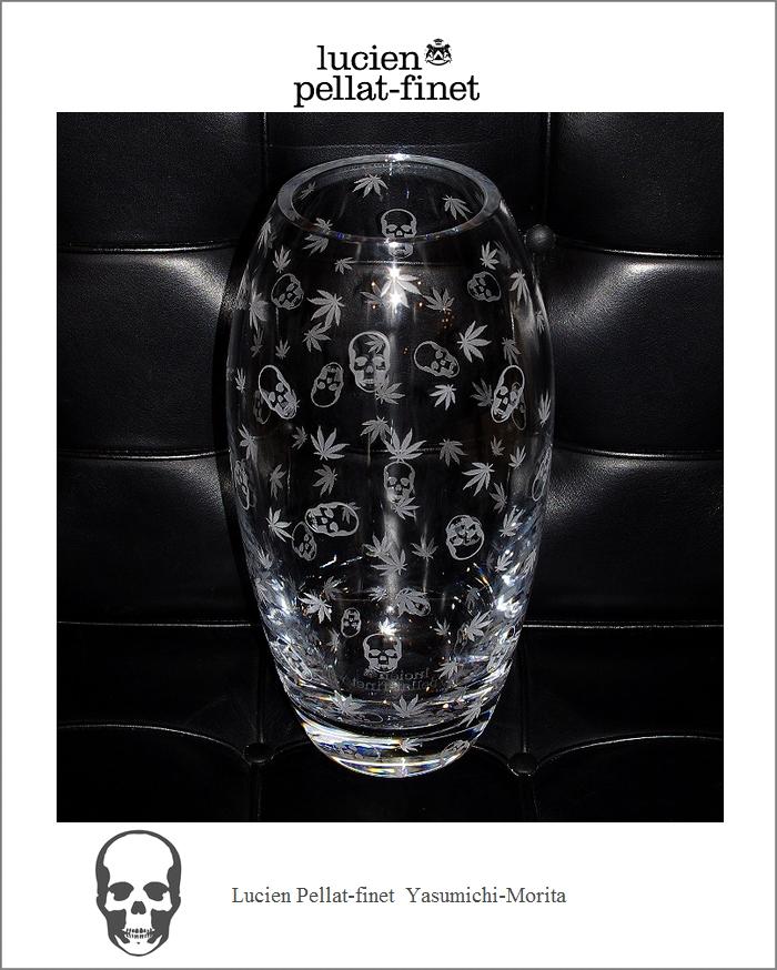 """【ルシアン・ペラフィネ""""世界限定100個クリスタルフラワーベース】【Lucien Pellat-Finet×森田恭通】"""