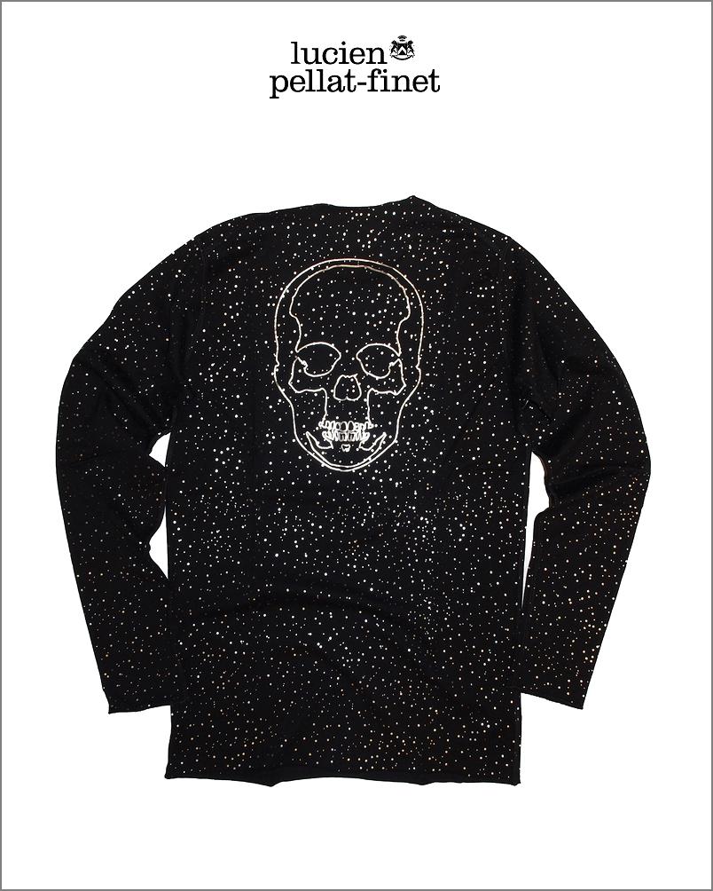 【全品P2倍/最大10,000円OFFクーポン配布中】ルシアンペラフィネ コンステレーション スカル 星座Tシャツlucien pellat-finet Constellation Skull Tshirt
