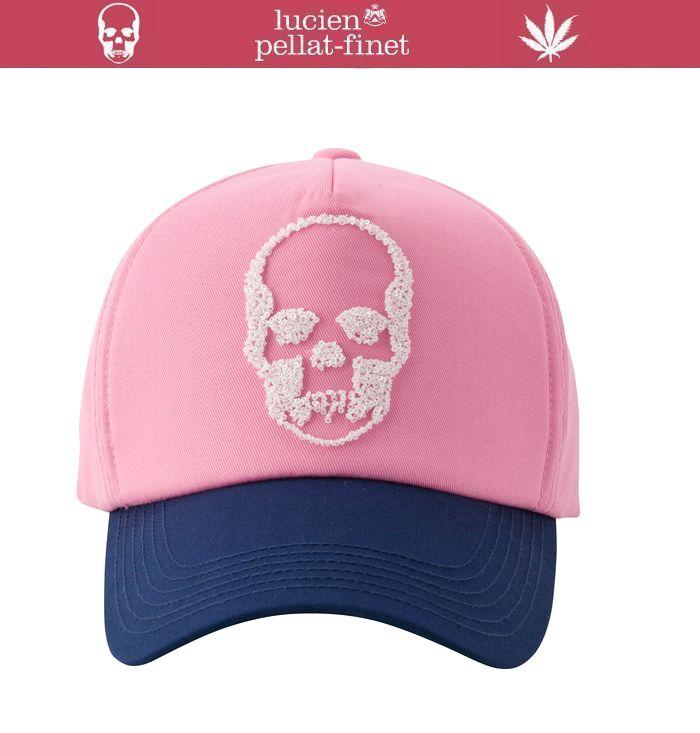 ルシアンペラフィネ スパンコール スカル キャップlucien pellat-finet SKULL Cap送料無料(北海道/沖縄/離島除外)