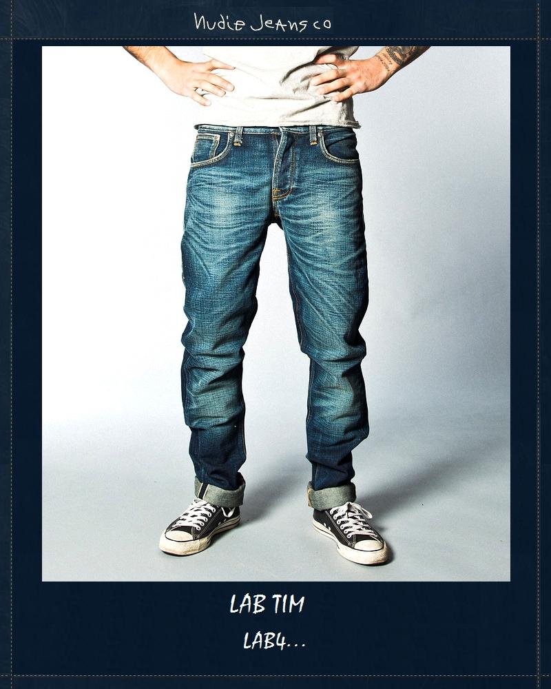 """【全品P2倍】【NudieJeans""""LAB4/TIM】【ヌーディージーンズ限定""""ラボ・ティム4】"""