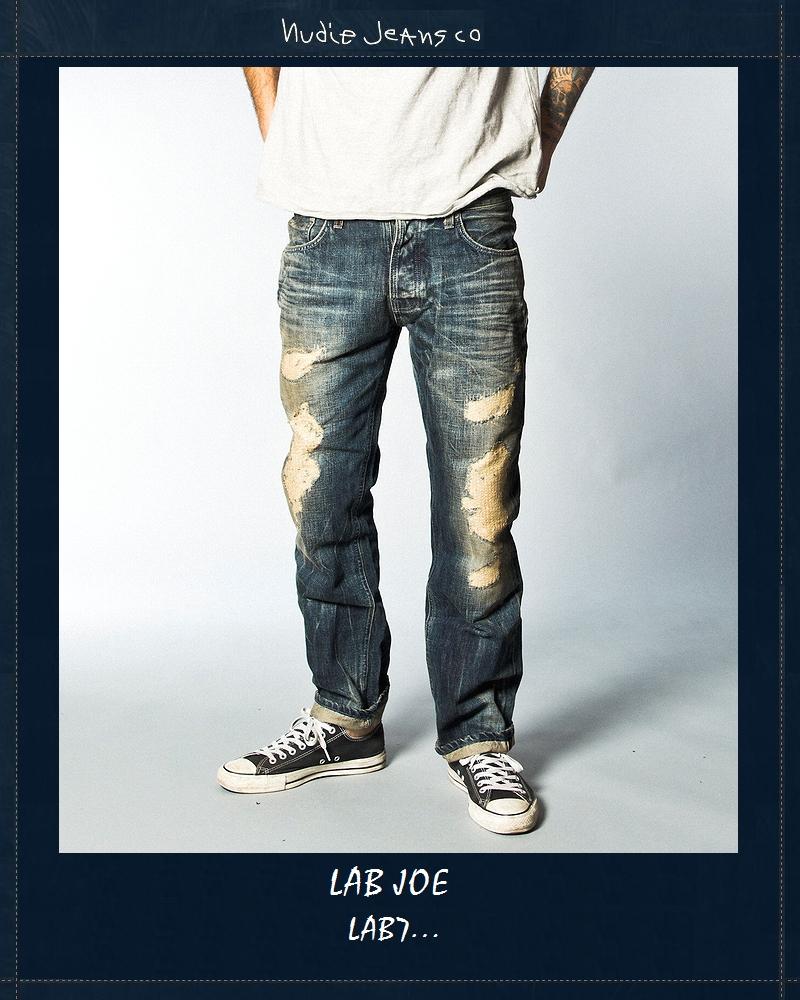 """【全品P2倍】【NudieJeans""""LAB7/JOE】【ヌーディージーンズ限定""""ラボ・ジョー7】"""