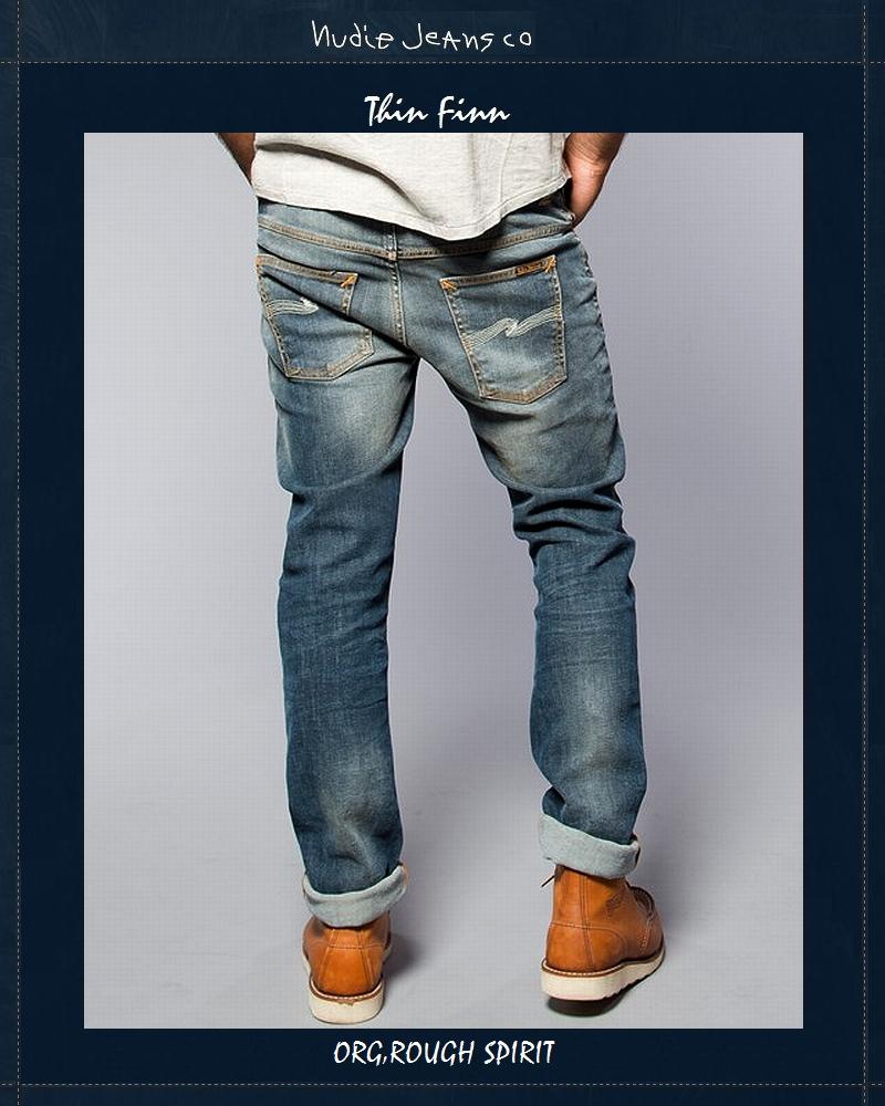 ヌーディージーンズ NudieJeans シンフィン オーガニック ラフスピリット L30ThinFinn Org RoughSpirit 北欧 スウェーデン