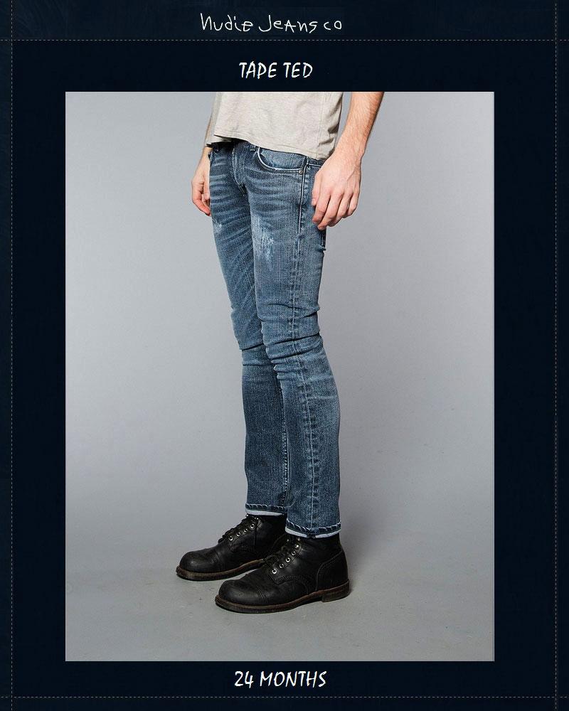 ヌーディージーンズ NudieJeans テープテッド 24か月 ビンテージデニム L32TapeTed 24Months 北欧 スウェーデン