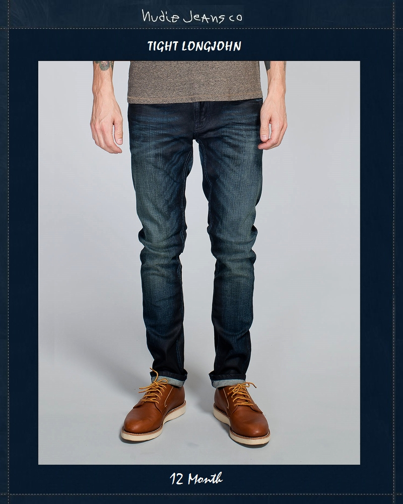 """【NudieJeans""""TightLongJohn/12Month""""L32】【タイトロングジョン""""12ヶ月】"""