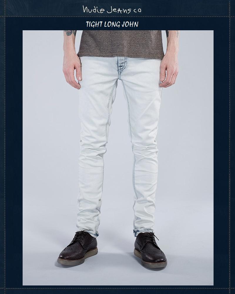 【全品P2倍】ヌーディージーンズ【NudieJeans TightLongJohn Arctic-Sea L30】【タイトロングジョン アークティックシー】