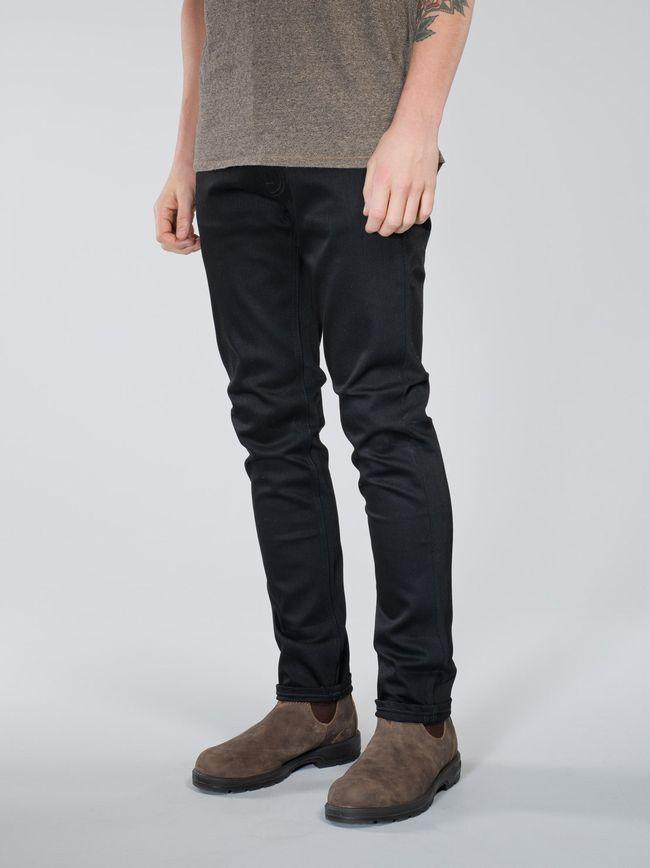 NudieJeans LeanDean DryColdBlack L32【ヌーディージーンズ リーンディーン ドライ コールド ブラック