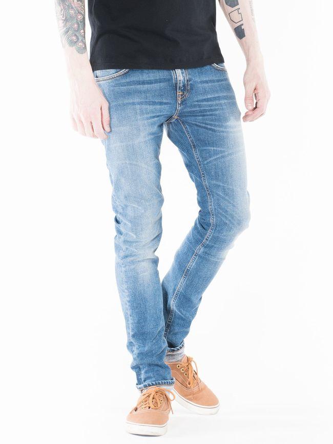 【全品P2倍/最大10,000円OFFクーポン配布中】ヌーディージーンズ NudieJeans LongJohn CleanStreet L/32】ロングジョン クリーン・ストリート】