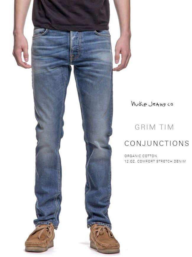 【全品P2倍】ヌーディージーンズ NudieJeans グリムティム カプセルコレクション コンジャンクション L30Grimtim CONJUNCTIONS 北欧 スウェーデン デニム