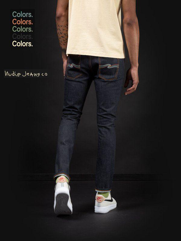 【全品P2倍/最大10,000円OFFクーポン配布中】ヌーディージーンズ カプセルコレクション 世界限定モデル リーンディーン ドライ カラーズNudieJeans CAPSULE COLLECTION LEANDEEN DRY COLORS デニム スウェーデン