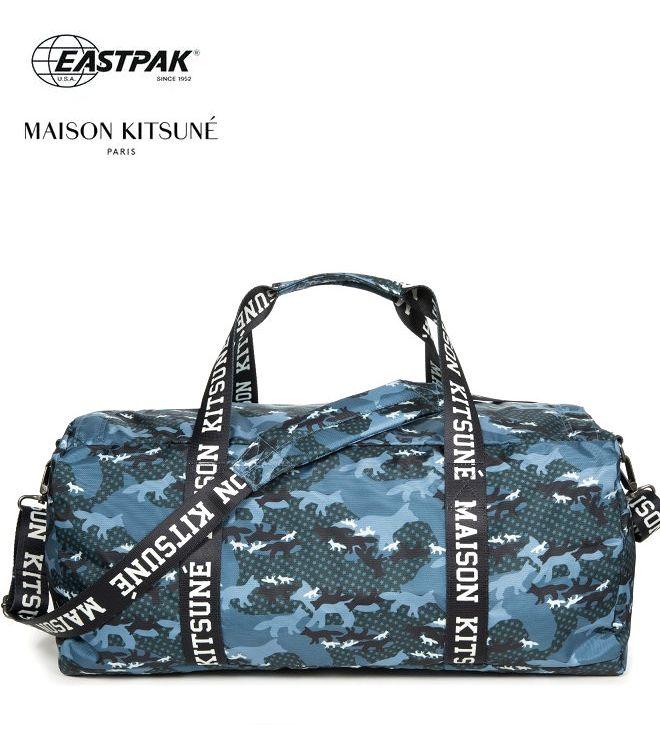 2019新作 イーストパック メゾンキツネ 世界限定モデル EASTPAK MAISON KITSUNE ダッフルバッグ