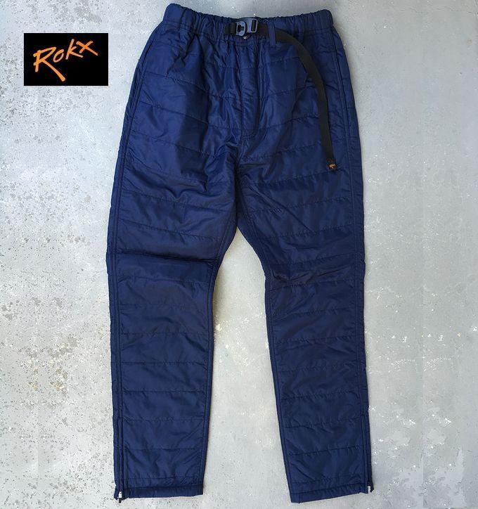 【全品P2倍/最大10,000円OFFクーポン配布中】ROKX Insulated Pantロックス インサレーションパンツ 中綿入り秋冬モデル