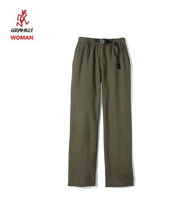 2019SS 春夏新作 グラミチ リネンコットン ラックス パンツ 女性用Gramicci LINENCOTTON LAX PANTS Woman