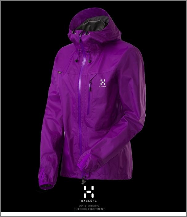 HAGLOFS LIM2 Q Jacket Woman purple ホグロフス正規品