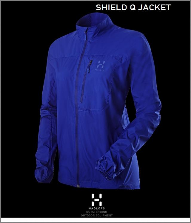 HAGLOFS SHIELD Q JACKET NobleBlue ホグロフス シールドQジャケット 女性用 ノーブルブルー