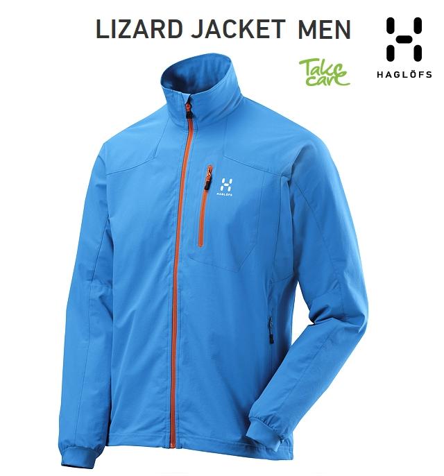 HAGLOFS Lizard Jacket GaleBlue ホグロフス リザードジャケット ゲ-ルブルー