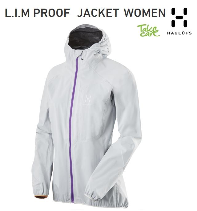 【全品P2倍】HAGLOFS LIM PLOOF JACKET Woman SoftWhite ホグロフス リム プルーフ ジャケット女性用 ソフトホワイト