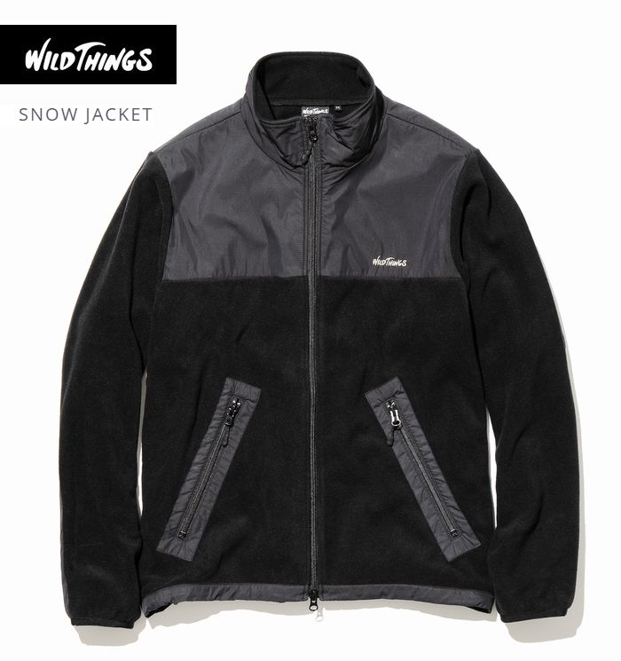 【全品P2倍】秋冬新作 ワイルドシングス スノージャケット ポーラーテック 高機能 フリース ミリタリーWildthings snow Jacket