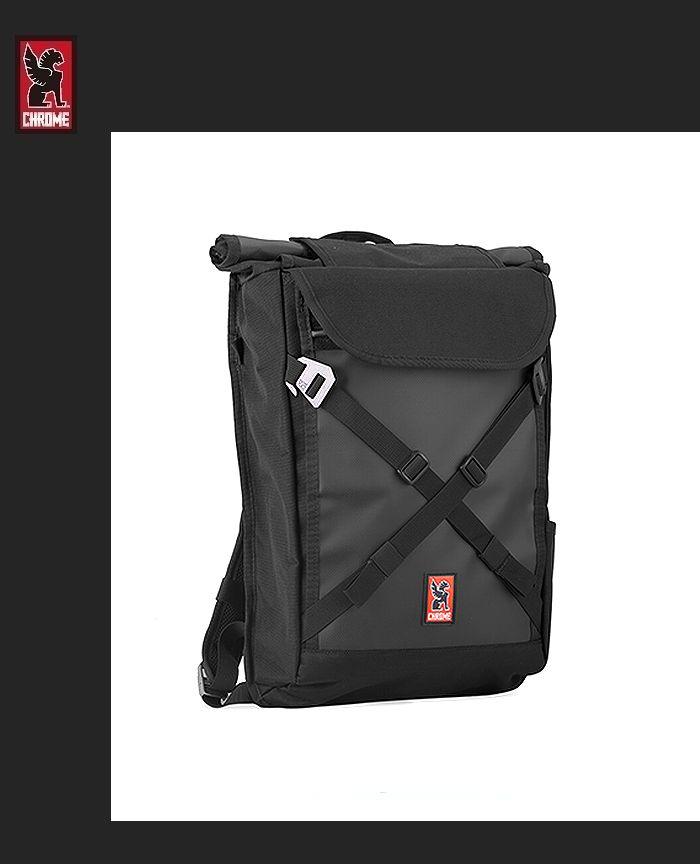 【全品P2倍】CHROME BRAVO2.0 BackPackクローム ブラーボ2.0 バックパック ブラック USA