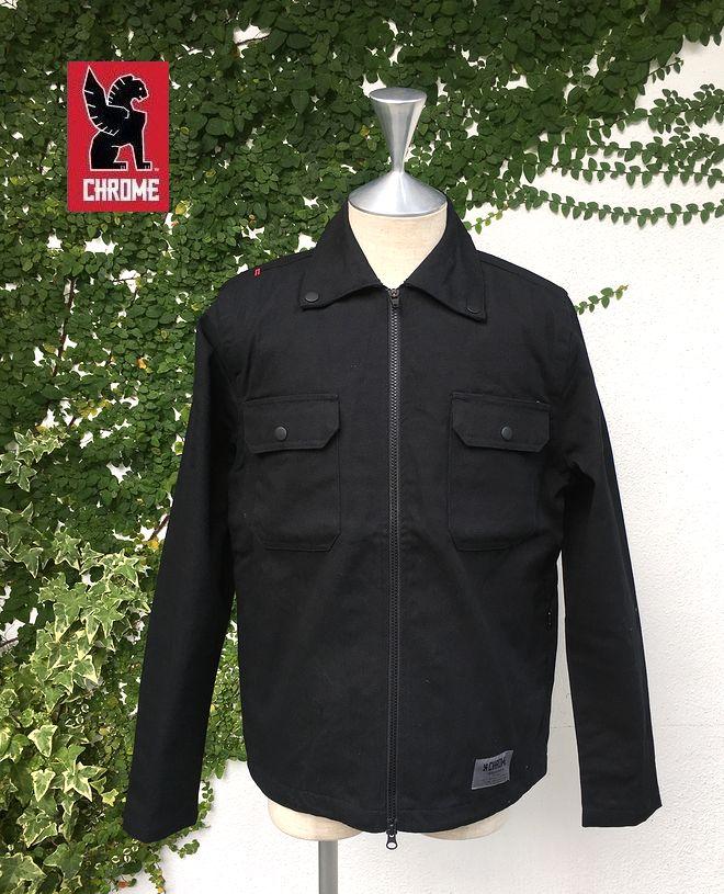 CHROME IKE-WINDSHIRTクローム アイク・ウィンドシャツ ワークシャツジャケット キャンバス