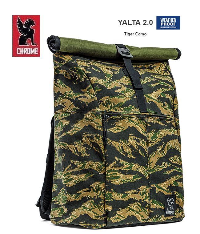 【全品P2倍】CHROME YALTA2.0 TIGER CAMOクローム ヤルタ2.0 バックパック タイガーカモ 迷彩柄 カモフラ メッセンジャー アメリカ