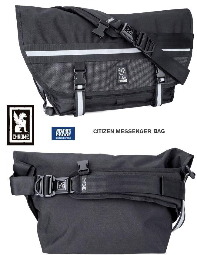 【全品P2倍】CHROME Citizen Night Seriesクローム シチズン ナイトメッセンジャーバッグ USA 最後のアメリカ製 視認性に優れたナイトシリーズモデル