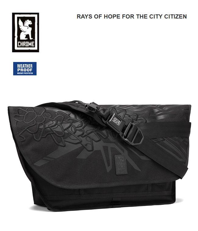 【全品P2倍/最大10,000円OFFクーポン配布中】CHROME クローム シチズン 日本限定モデル メッセンジャーバッグ RAYS OF HOPE FOR THE CITY アメリカ
