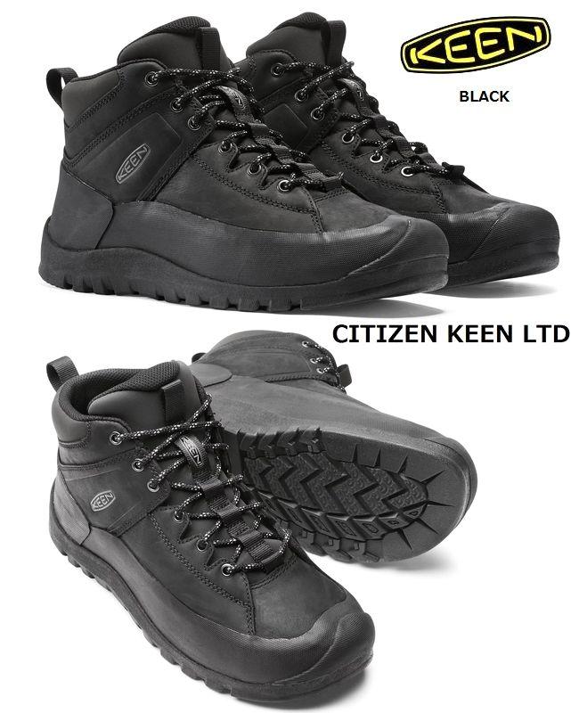 【全品P2倍/最大10,000円OFFクーポン配布中】KEEN キーン 本革 レザーブーツ CITIZEN LTD キーン USA リミテッド 限定モデル シティズン ブーツ