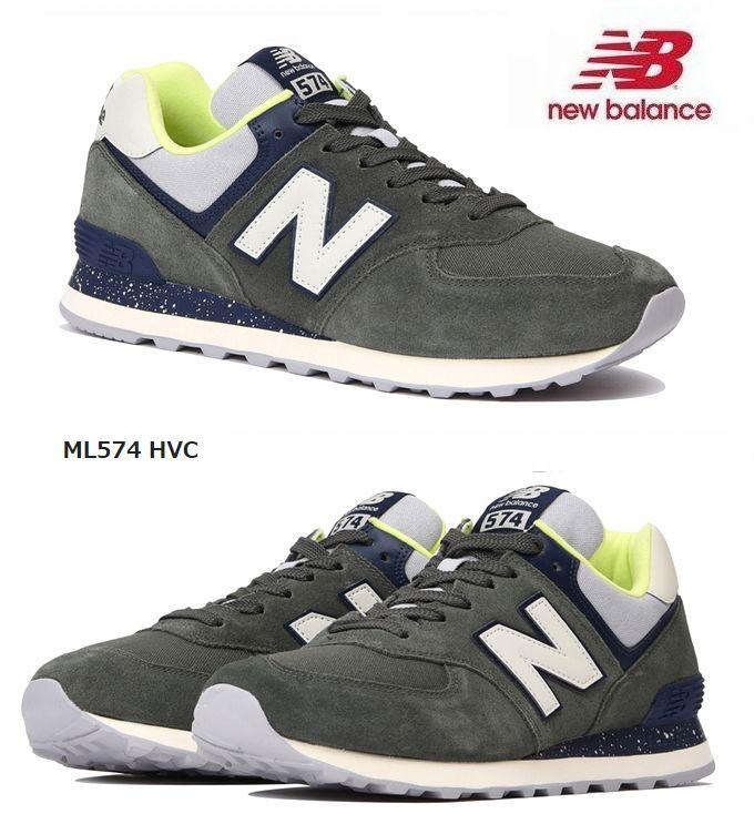 【全品P2倍】ニューバランス NEWBALANCEML574HVC スニーカー