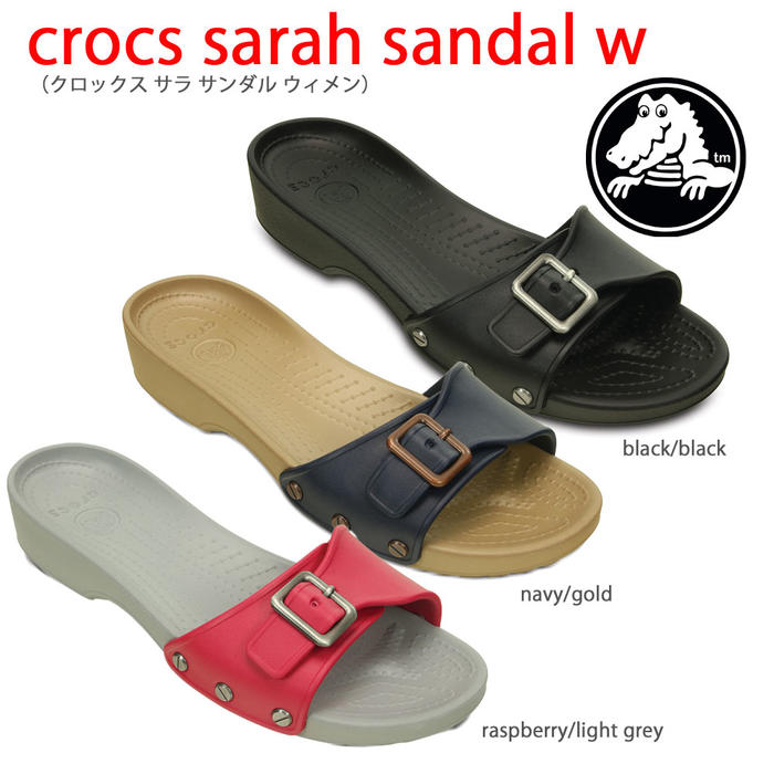 crocs クロックス【crocs sarah sandal w/クロックスサラサンダルウィメン】【クロックス国内正規取り扱い】