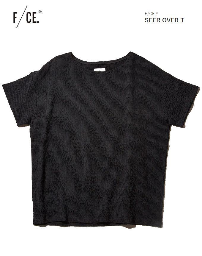 F/CE エフシーイー SEER OVER Tシアサッカー オーバー Tシャツ カットソー メンズ フィクチュール