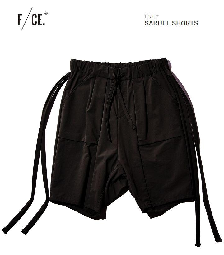 F/CE エフシーイー SARUEL SHORTSサルエル ショーツ ハーフパンツ メンズ フィクチュール